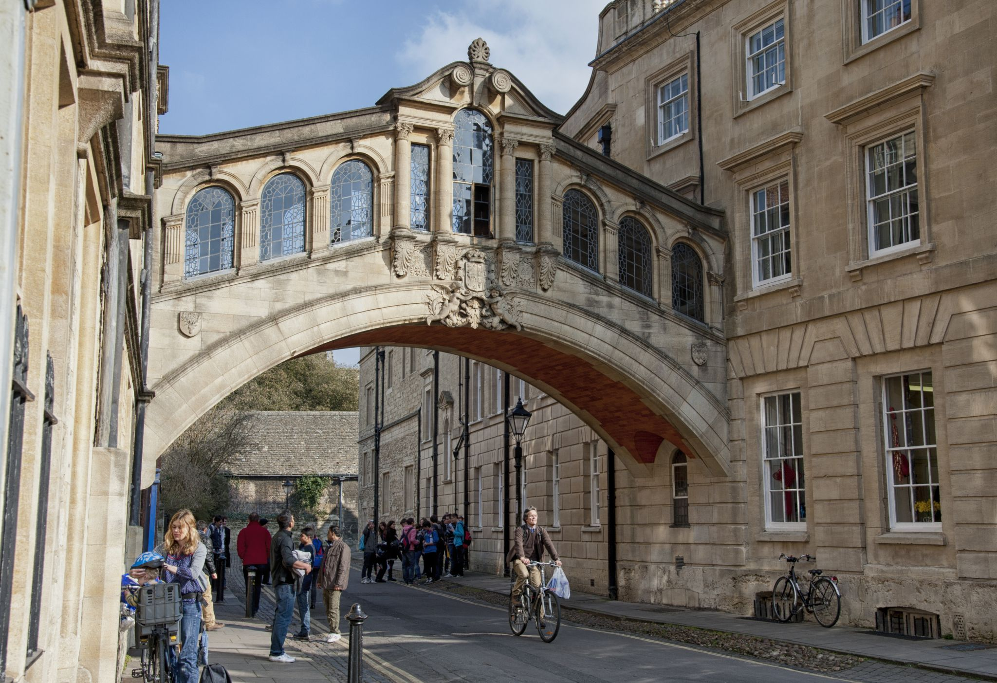 Packing for the weekend - Bridge of Sighs Oxford