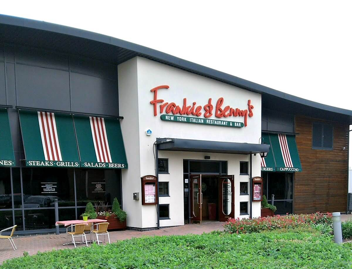 Frankie & Benny's Dunleavy Drive Cardiff exterior