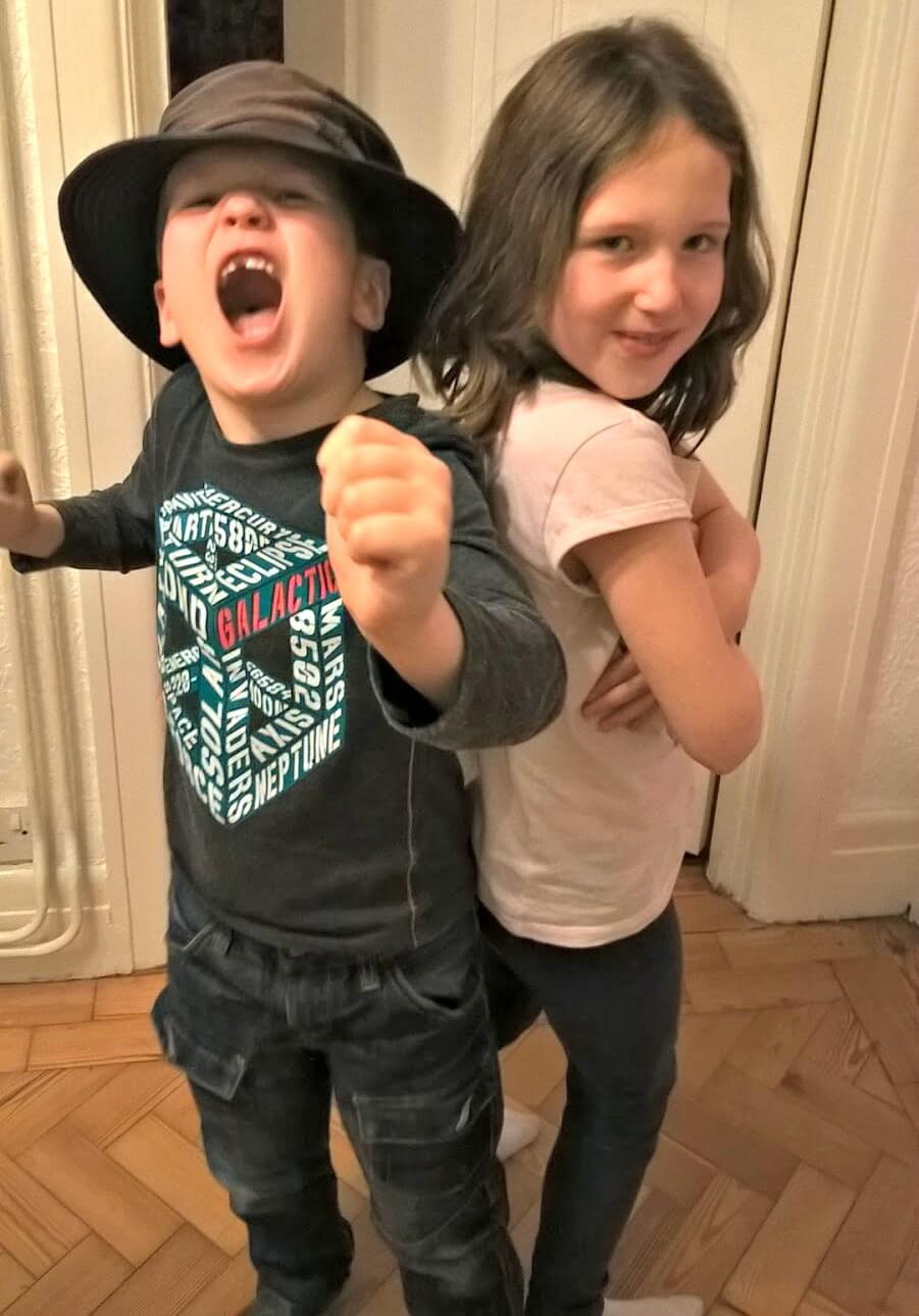 shouty mummy - Caitlin and Ieuan Hobbis