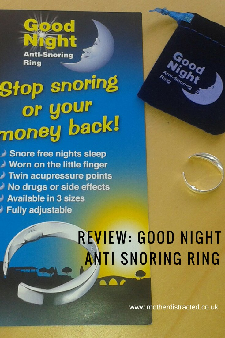 Review Good Night Anti Snoring Ring Mother Distracted