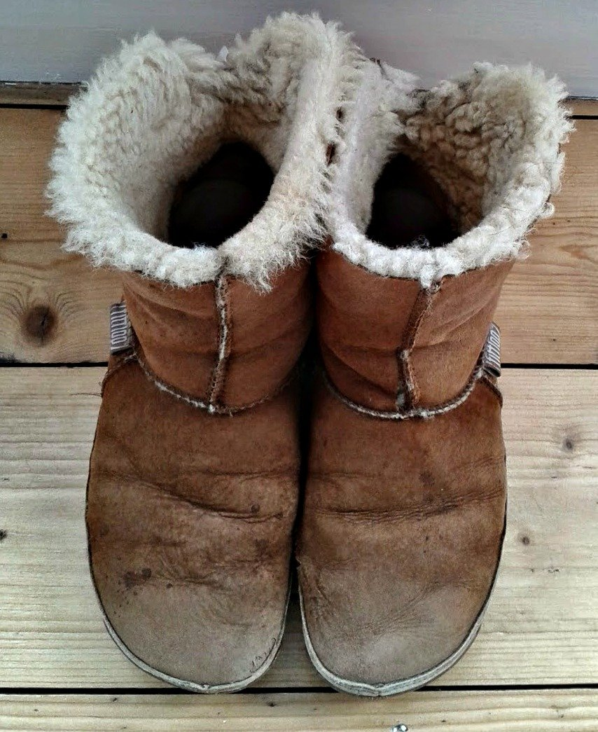 My favourite flat footwear - my Fitflop boots