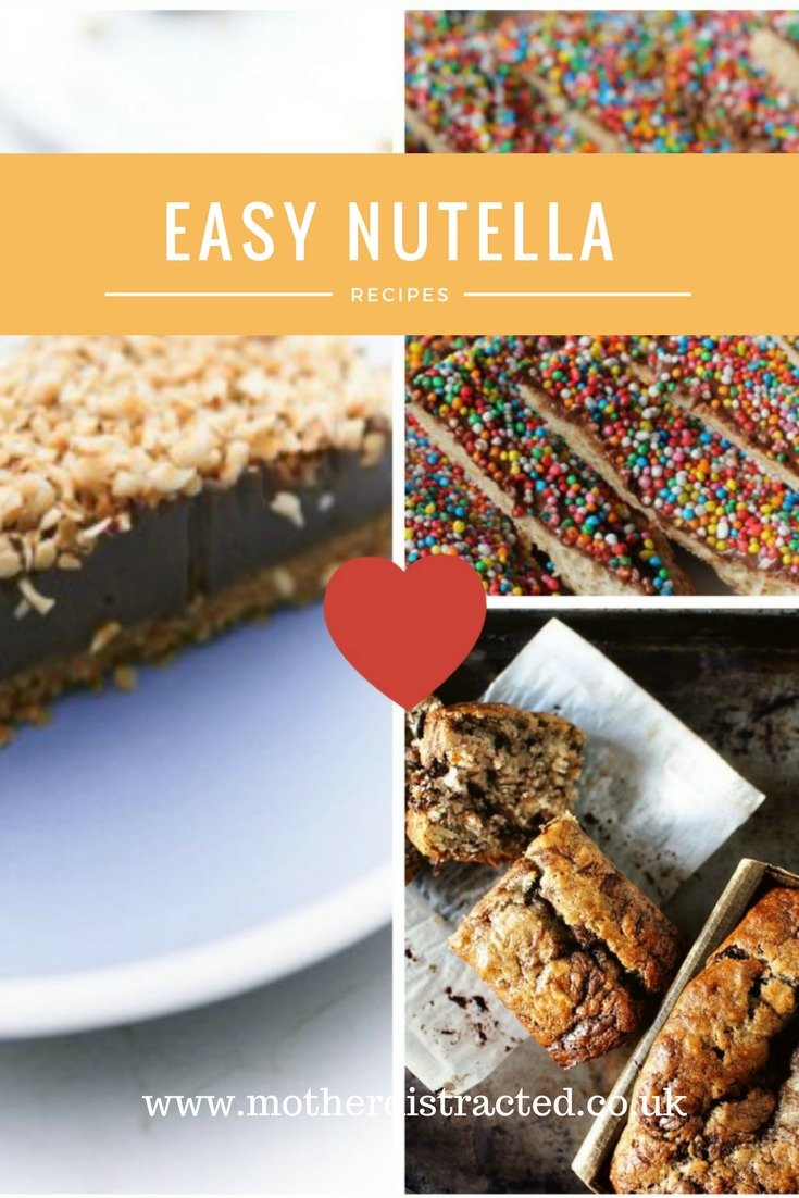Easy Nutella recipes for world nutella day