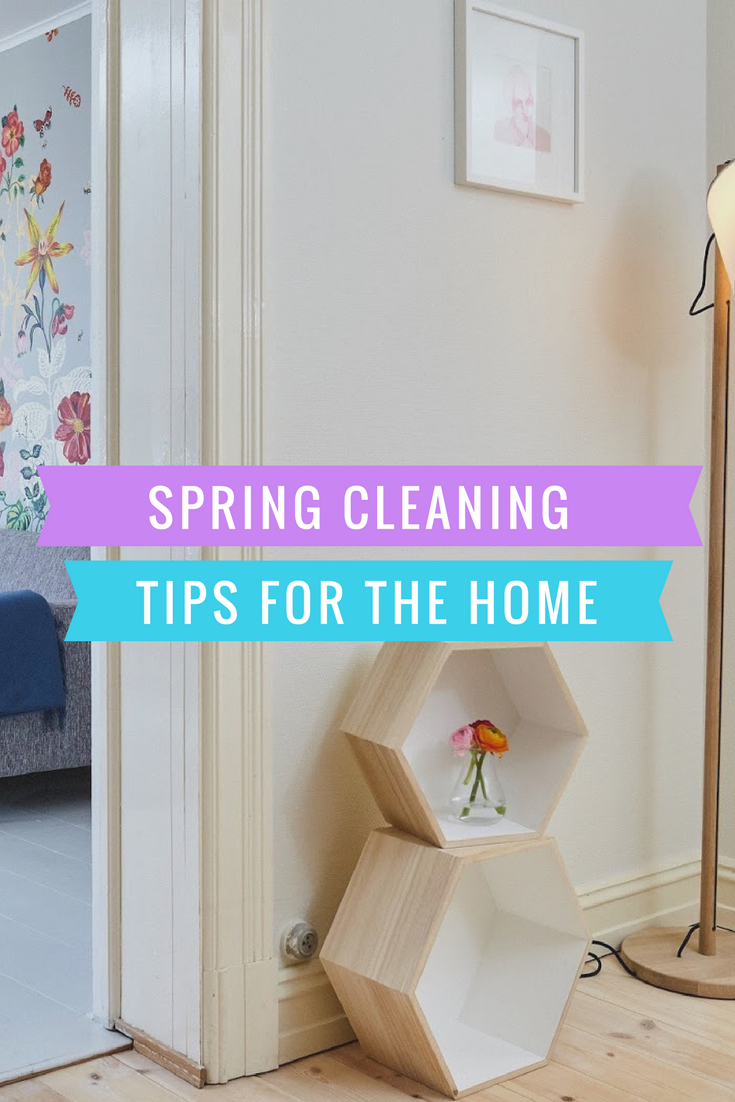 Spring cleaning mother distracted Cleaning tips for the home uk