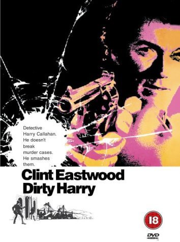 best classic movies - Dirty Harry DVD front cover