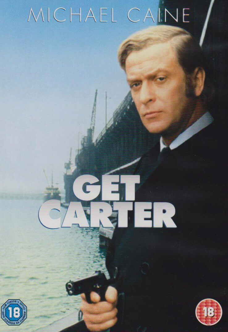 best classic movies - Get Carter DVD front cover