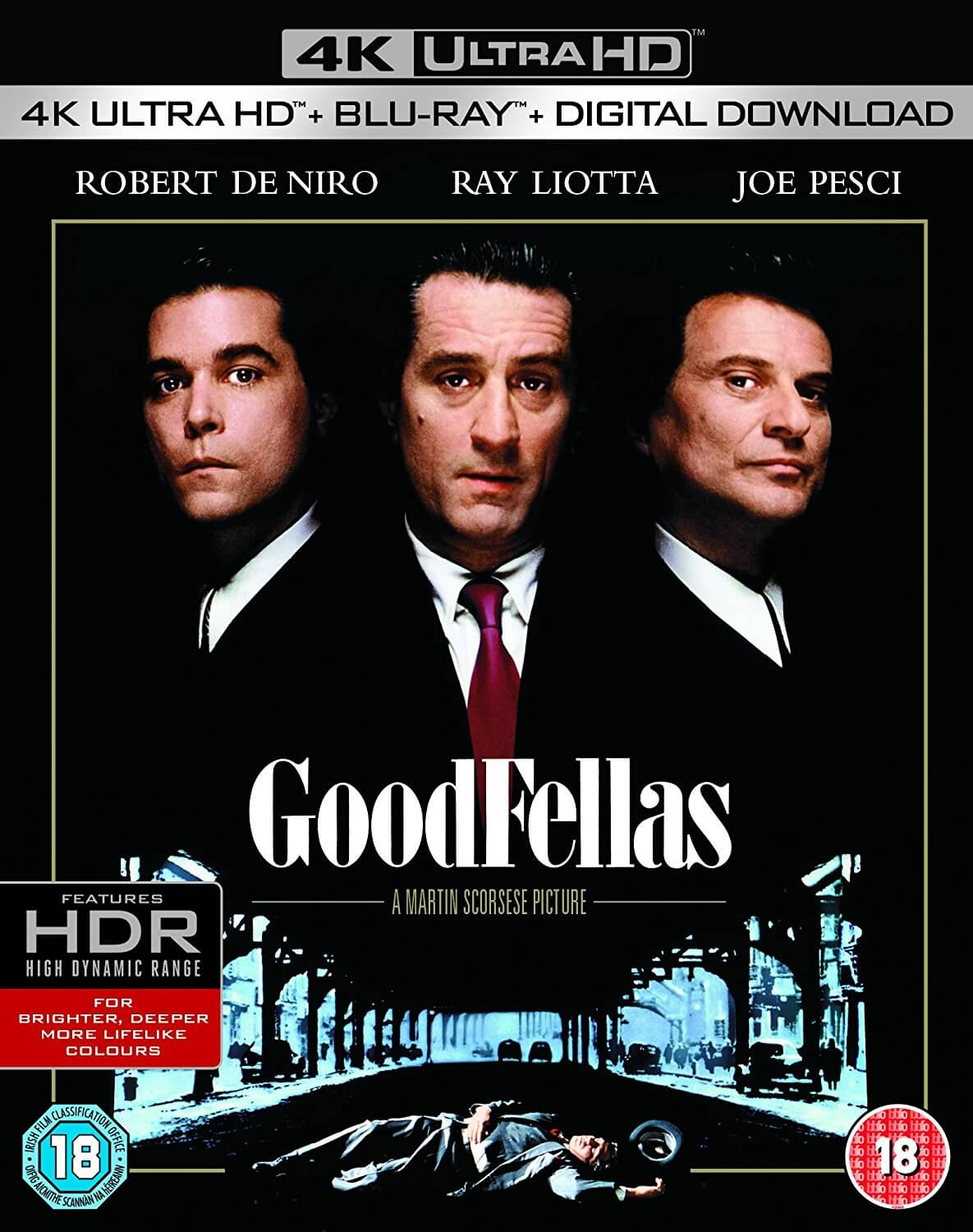 best classic movies - Good Fellas DVD Front cover