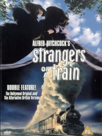 best classic movies Strangers On A Train DVD front cover