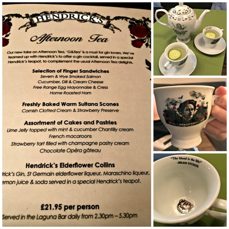 Hendrick's Afternoon Tea - pot, cups and saucers