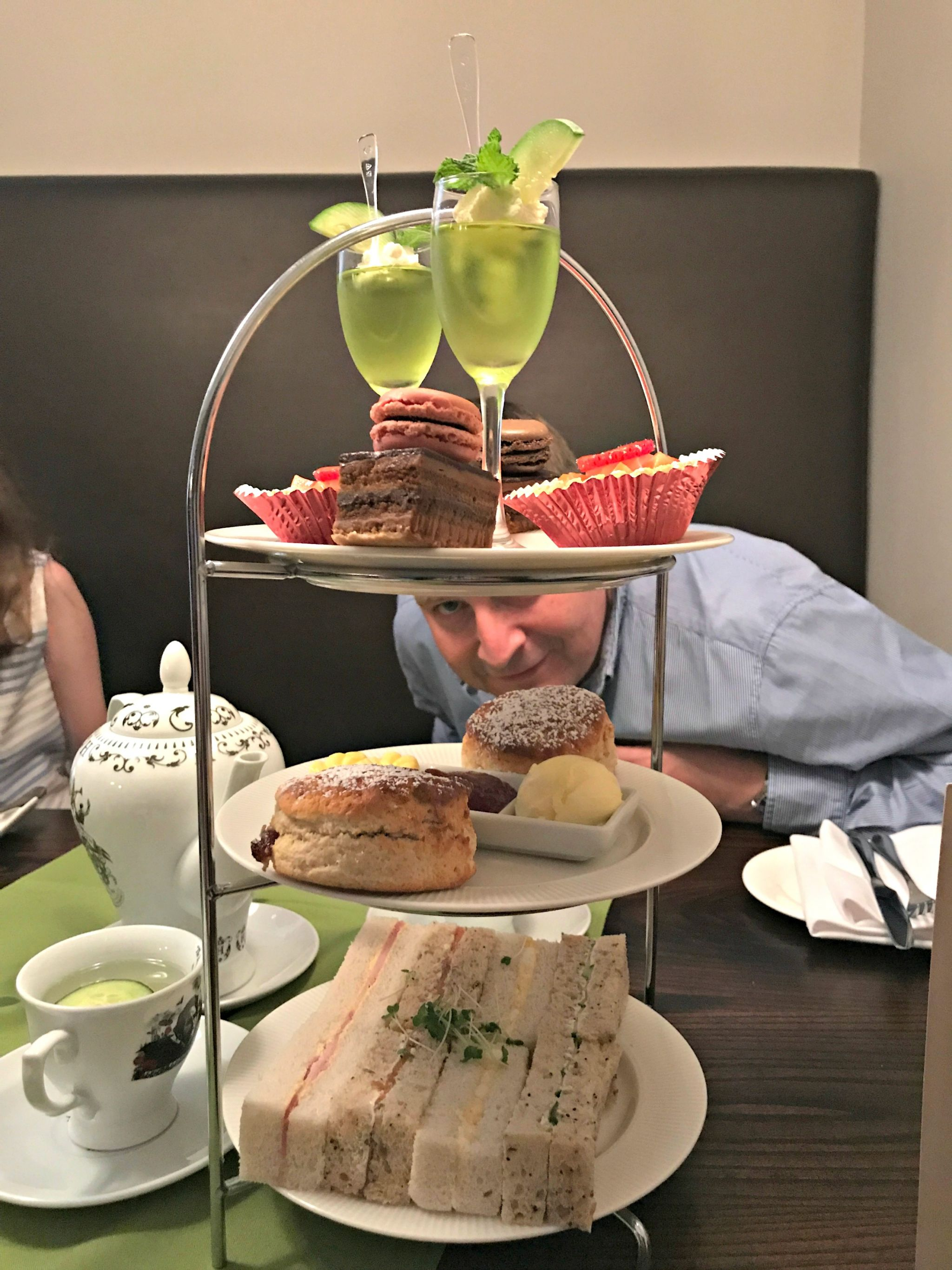 Hendrick's Gin Afternoon Tea Cake Stand