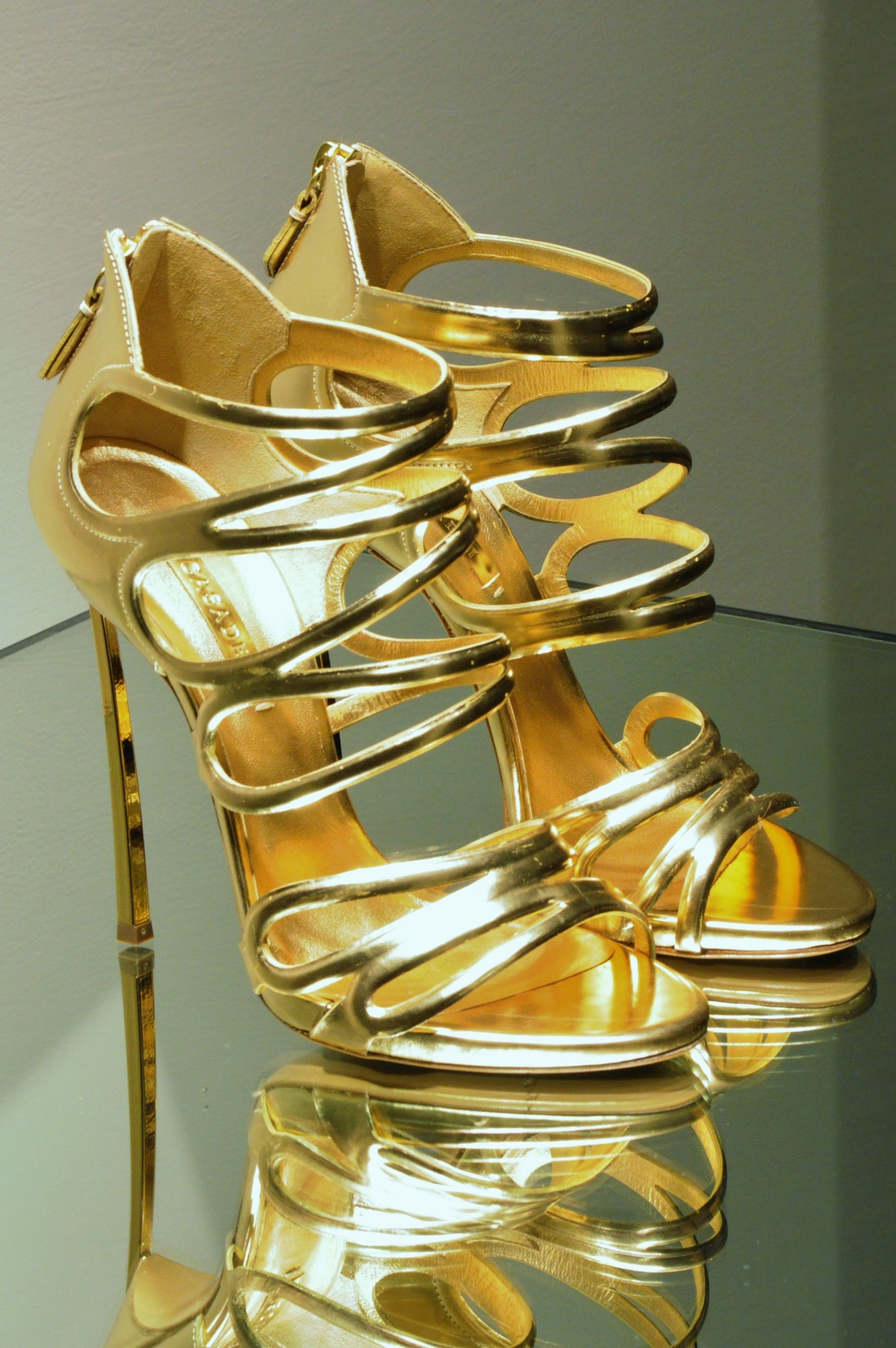 gold high heeled shoes - motherdistracted.co.uk