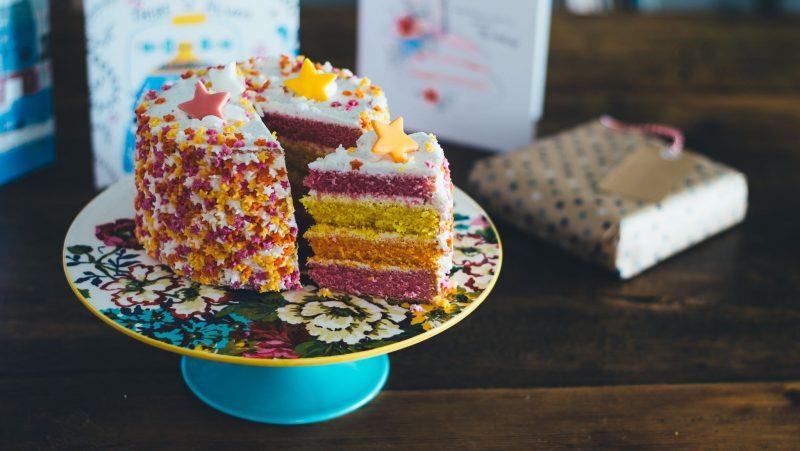 birthday cake and presents - motherdistracted.co.uk