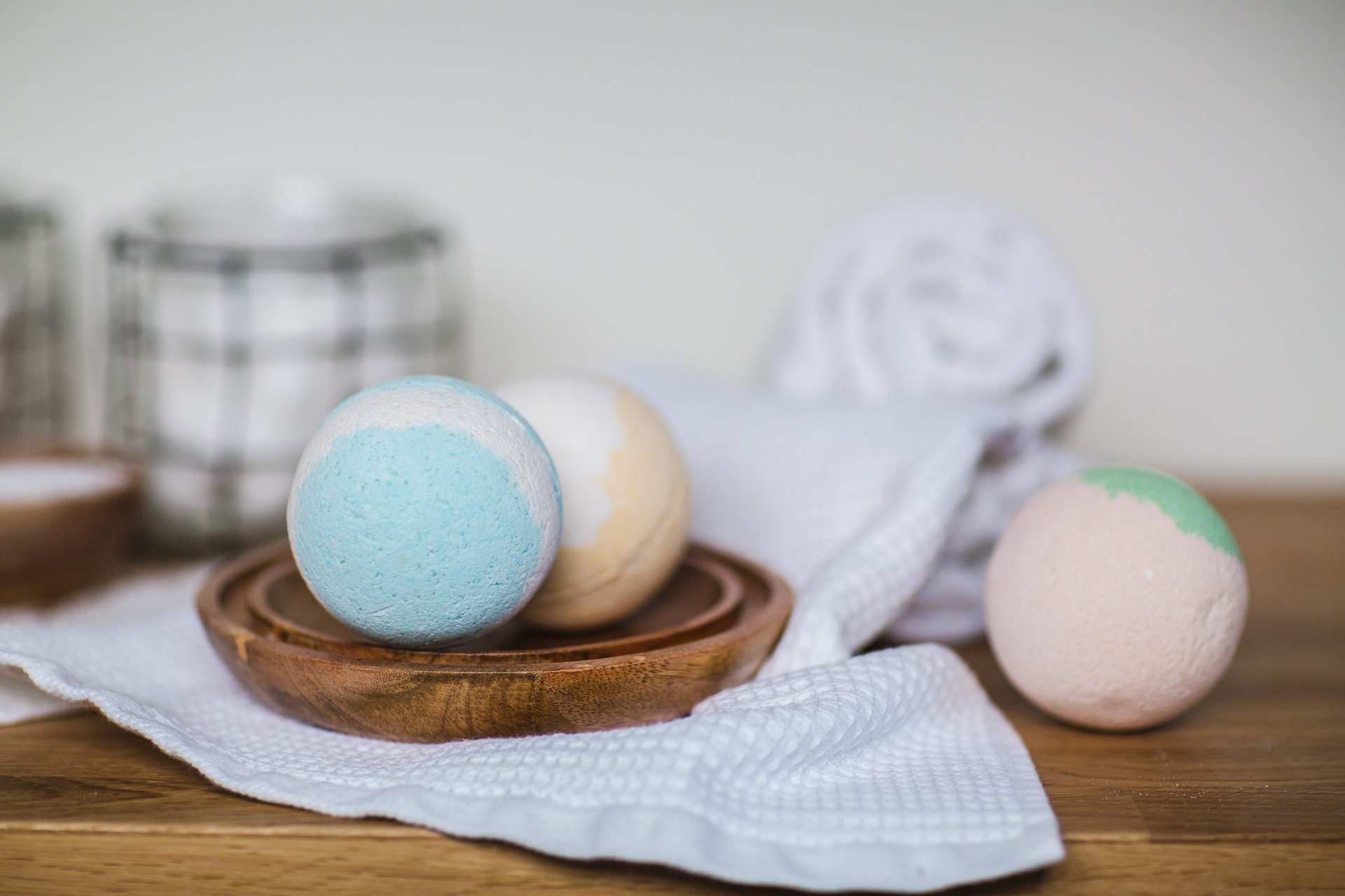 bath bombs, relaxation, hygge