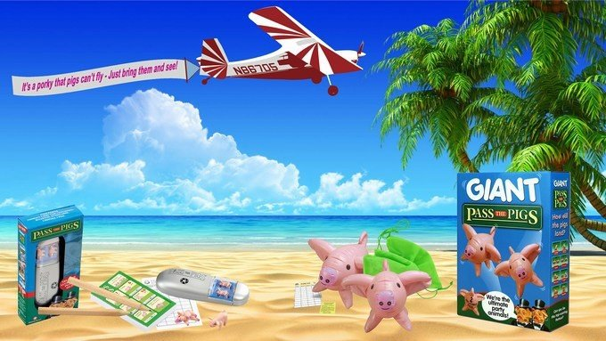 Travel Pass The Pigs Game & Giant Pass The Pigs Game, Toys, Toy Reviews, motherdistracted.co.uk