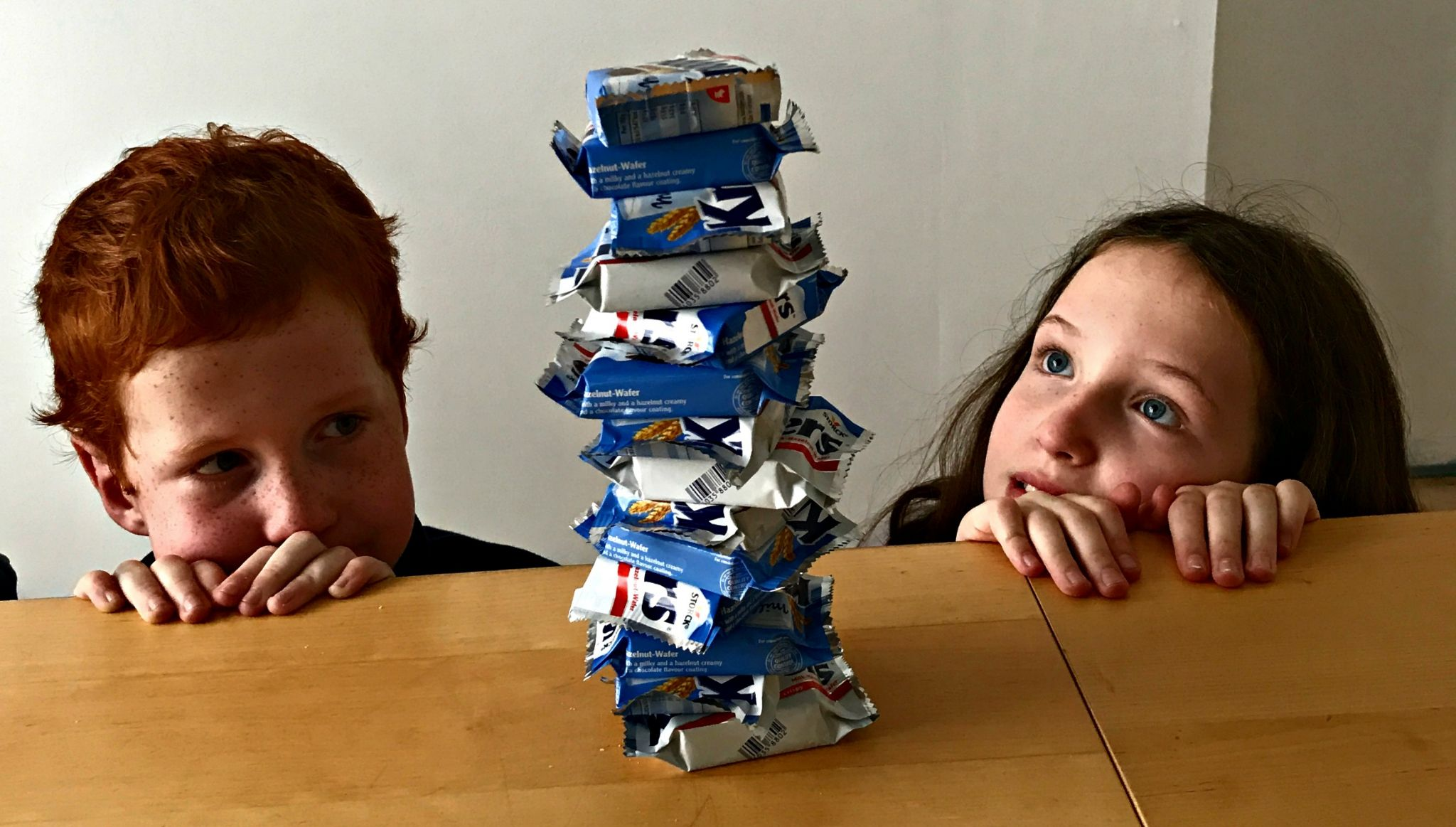 Caitlin & Ieuan & The Leaning Tower of Knoppers