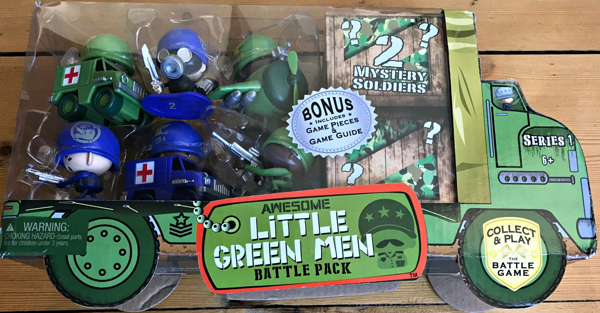 Awesome Little Green Men Battle Pack