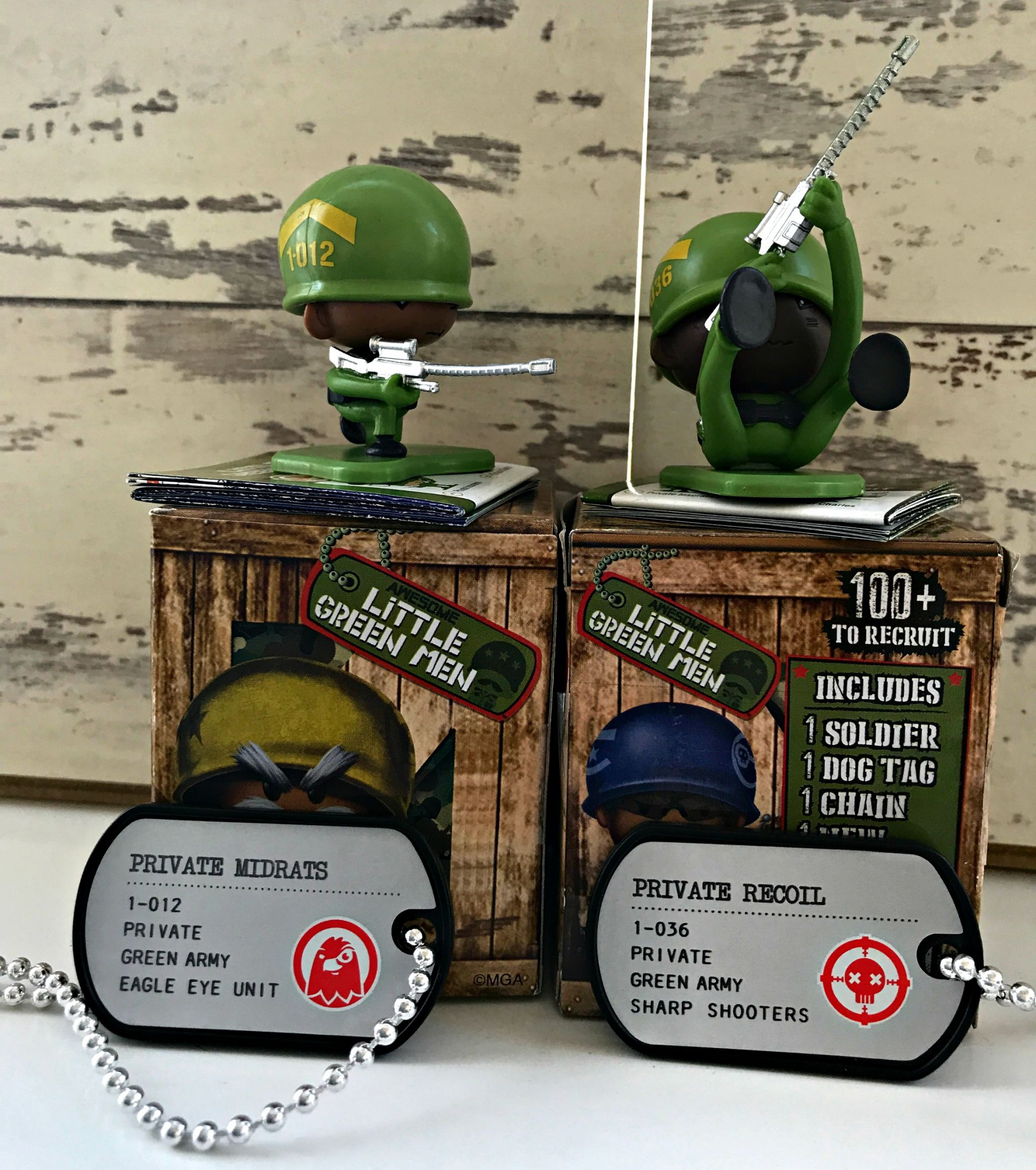 Awesome Little Green Men individual figures