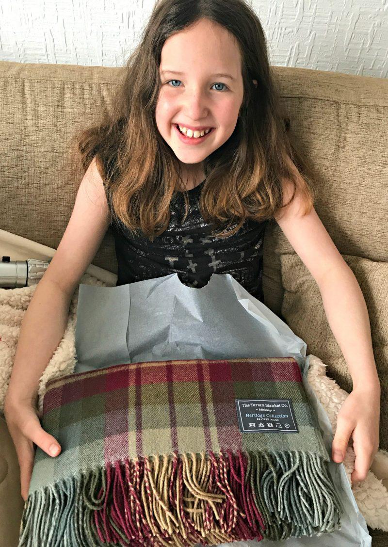 The Tartan Blanket co. Auld Scotland Tartan Blanket