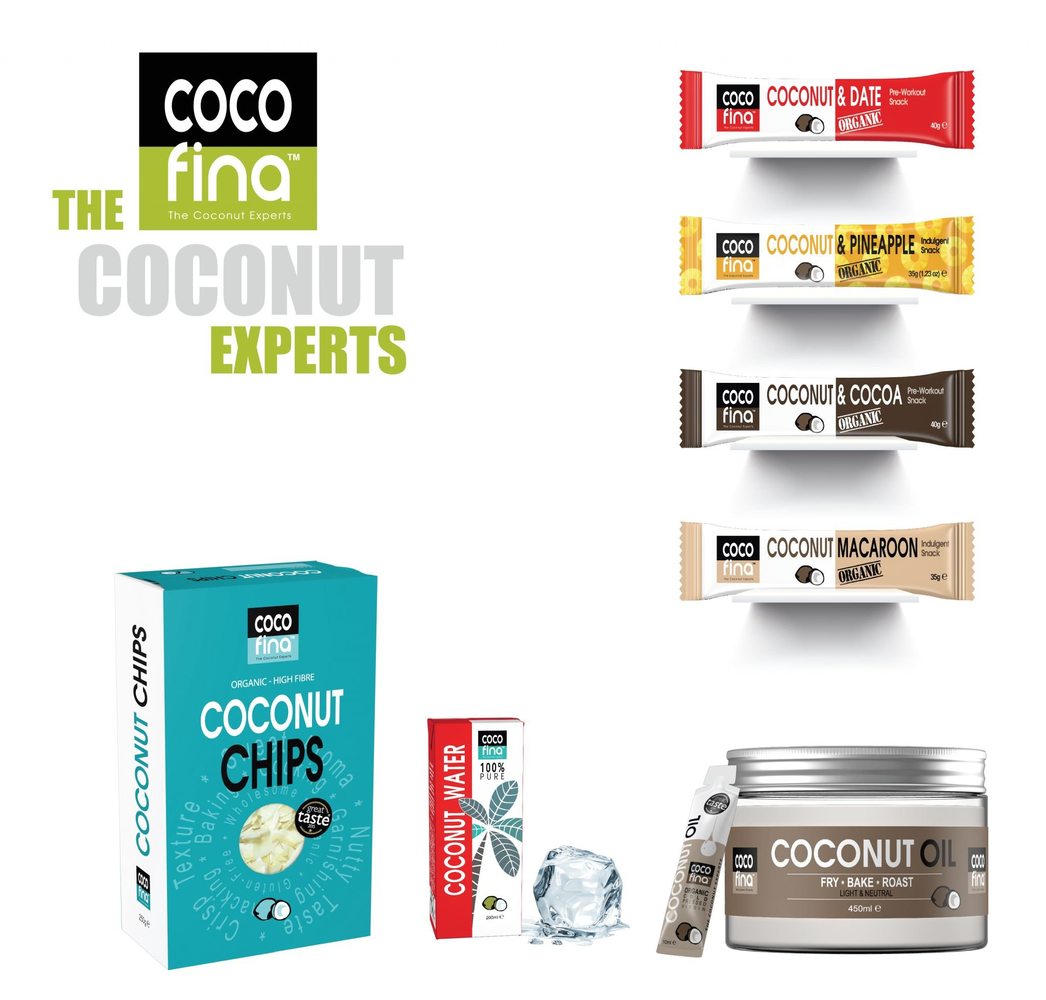 Hamper of Cocofina coconut products