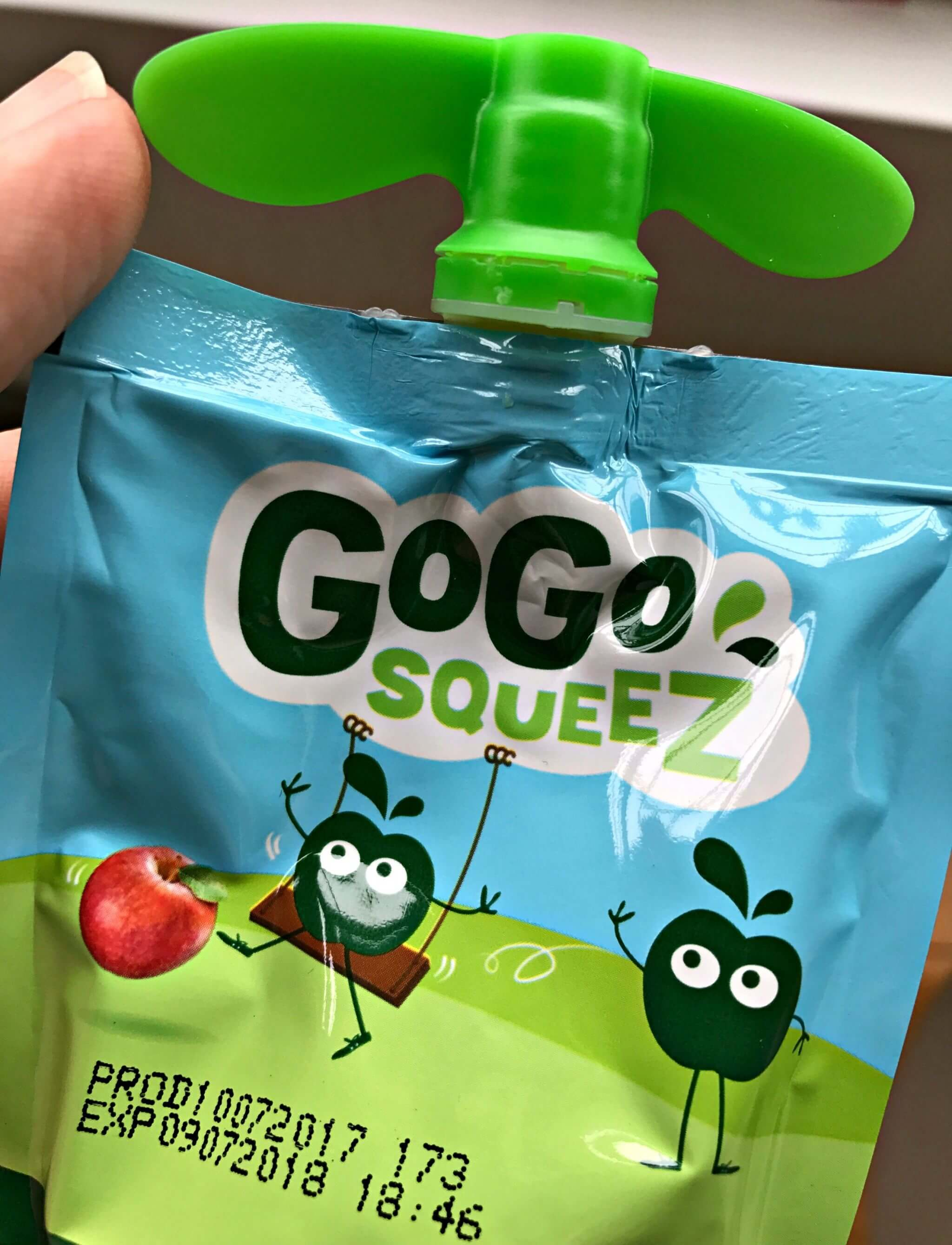best fruit snack - GoGo Squeez pouch