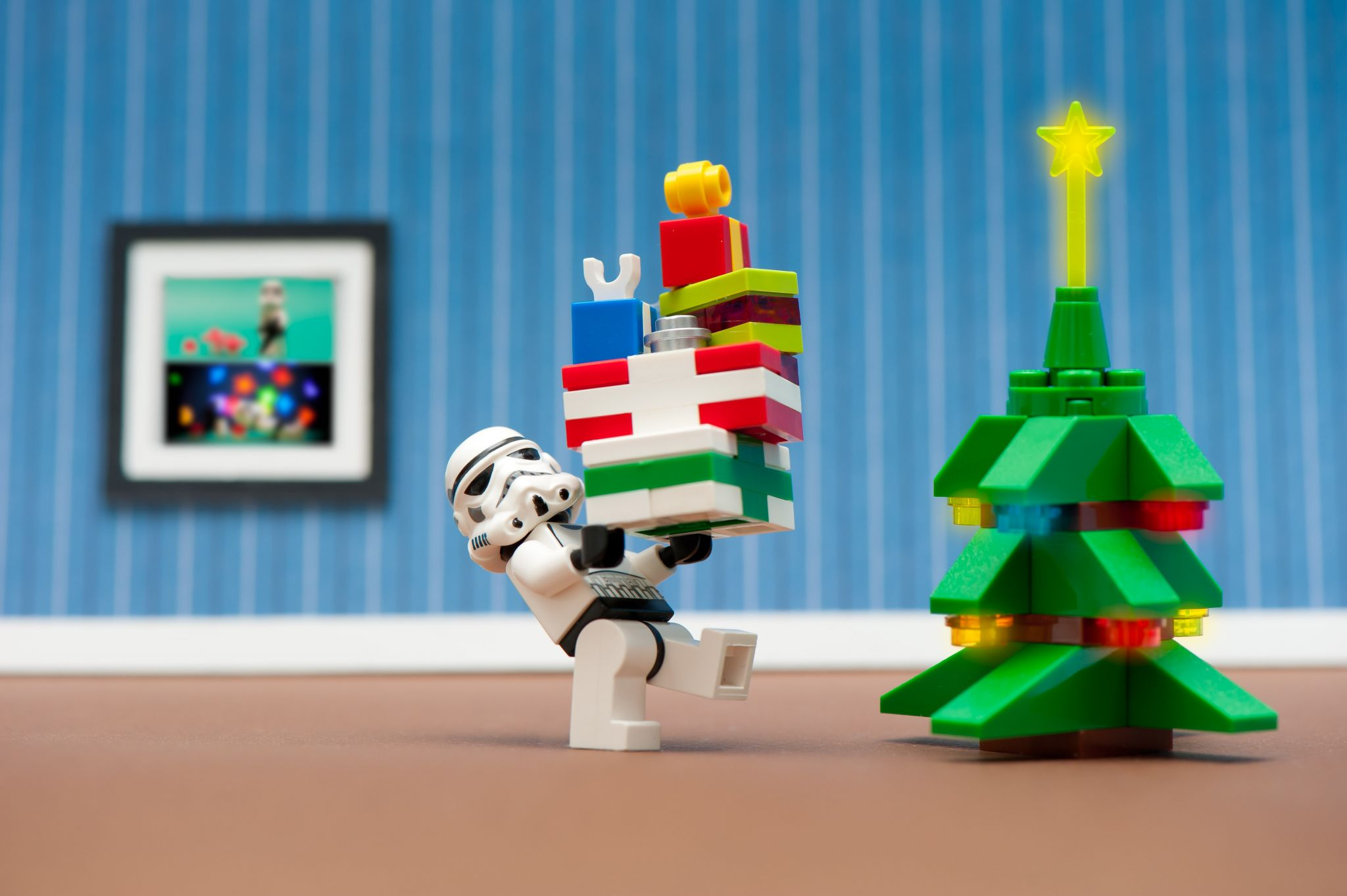 Stormtrooper's Christmas by Kenny Louie