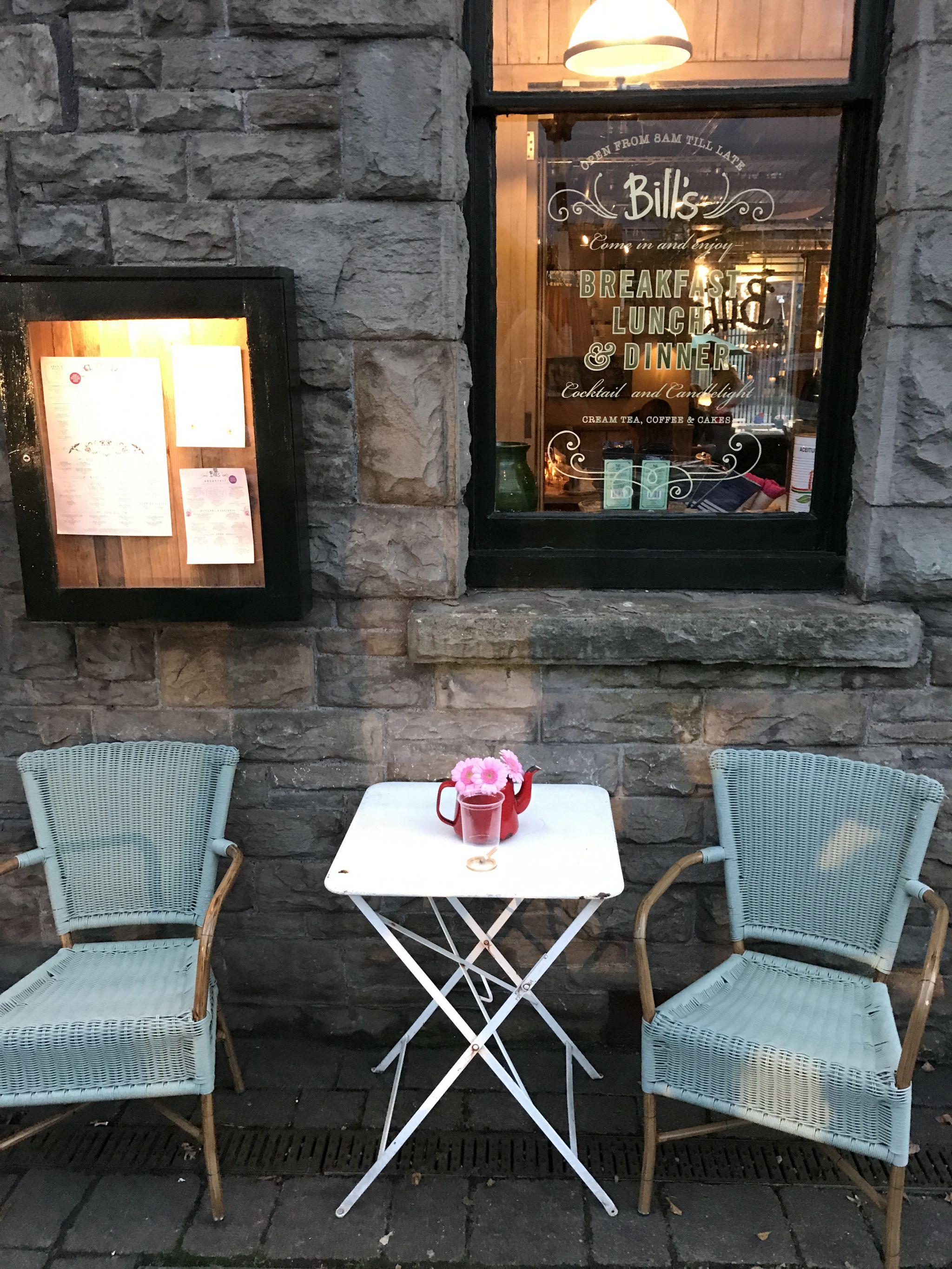 Bill's Restaurant Cardiff Bay Exterior