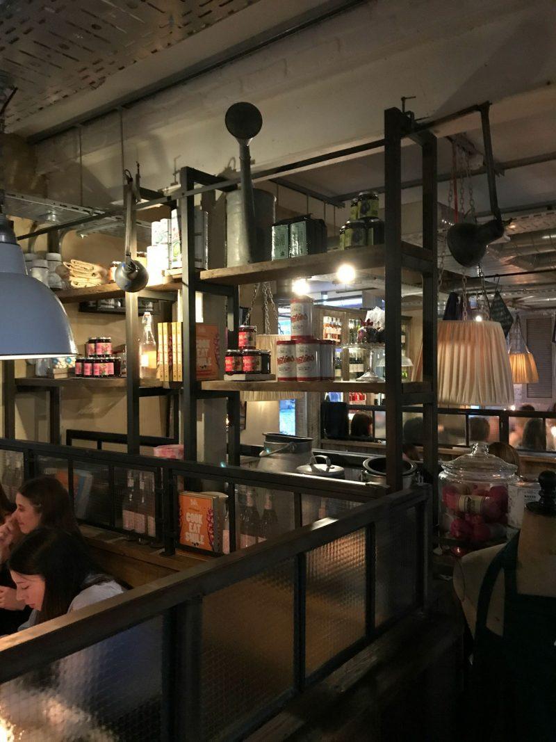 Inside Bills Restaurant, Cardiff Bay