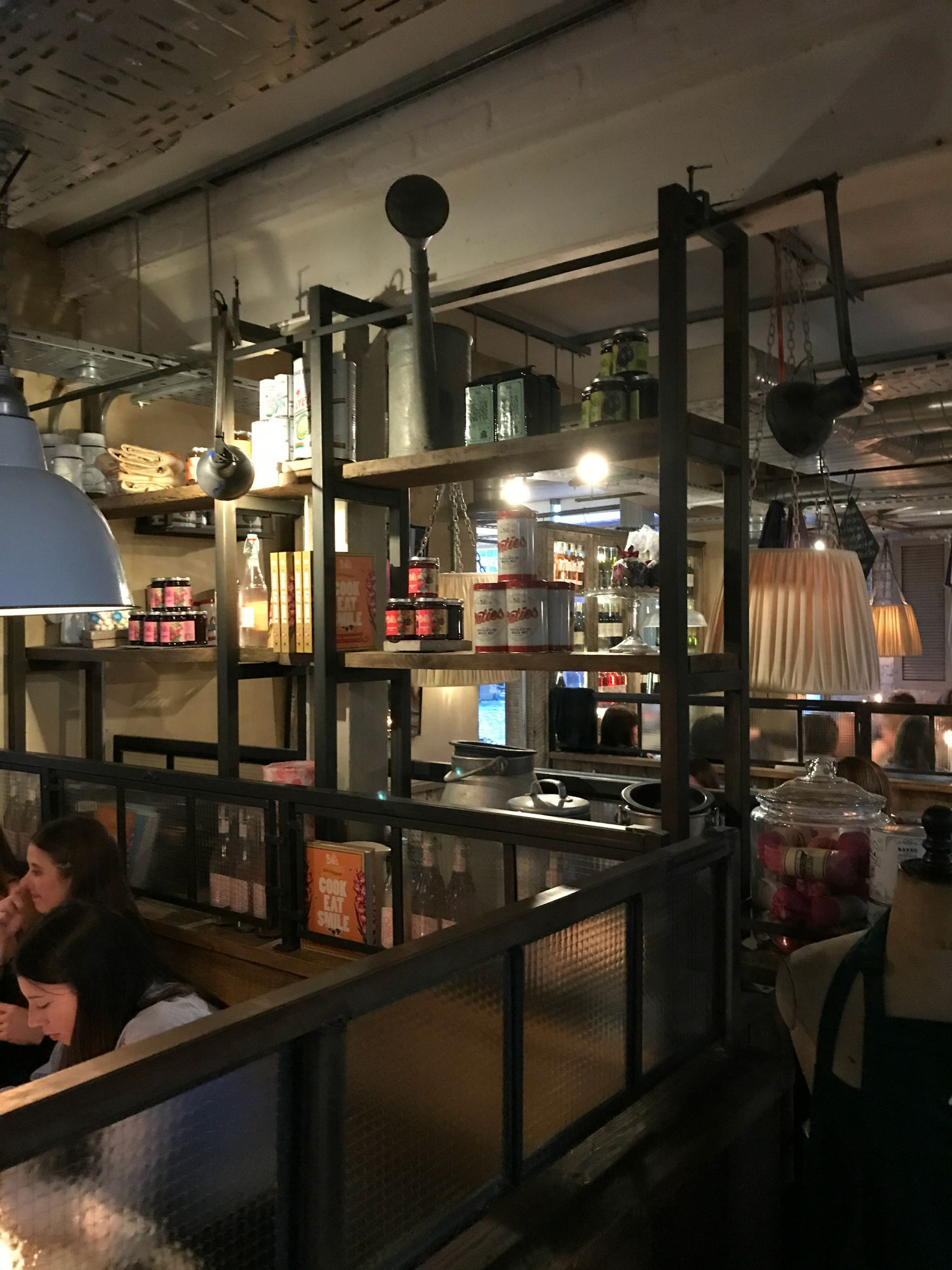 Inside Bill's Restaurant, Cardiff Bay