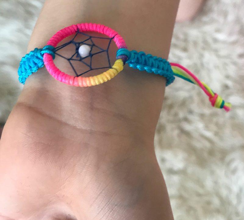 Smiggle Smile Dreamcatcher Bracelet