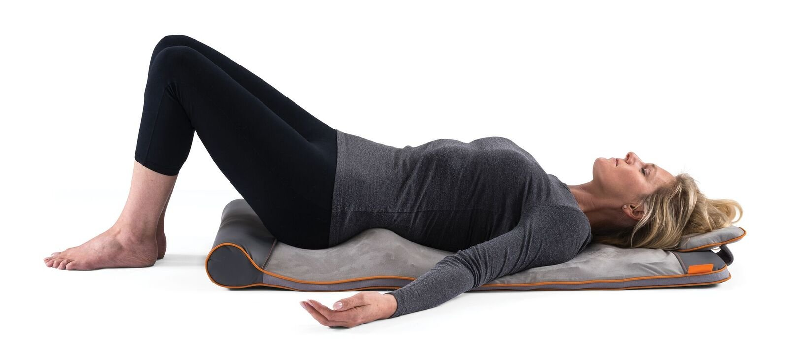 HoMedics STRETCH Mat - woman lying in the mat