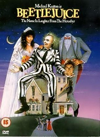 Halloween family movies - Beetlejuice DVD front cover