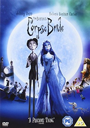 Halloween family movies - Corpse Bride DVD Front Cover