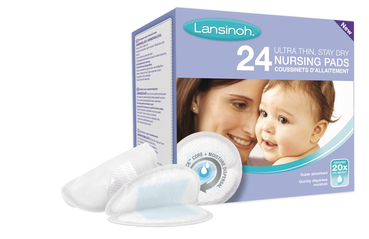 Mother Distracted Breast Feeding Giveaway Lansinoh Nursing Pads