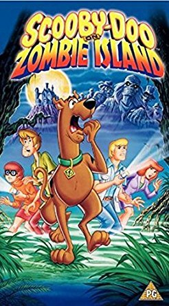 Scooby Doo On Zombie Island DVD front cover