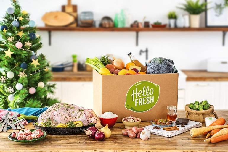 Hello Fresh Christmas Box