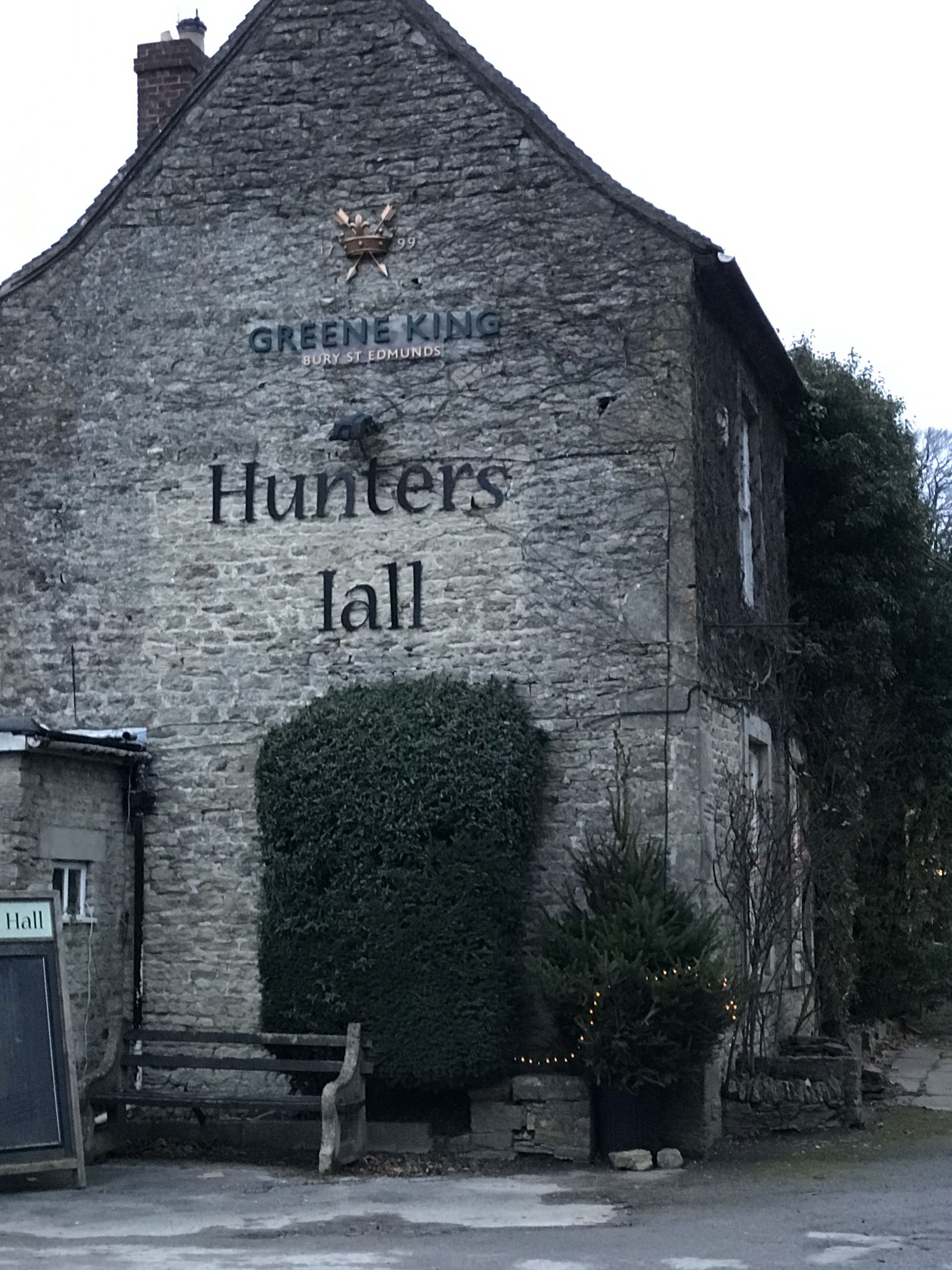 Hunters Hall Inn, Kingscote - exterior