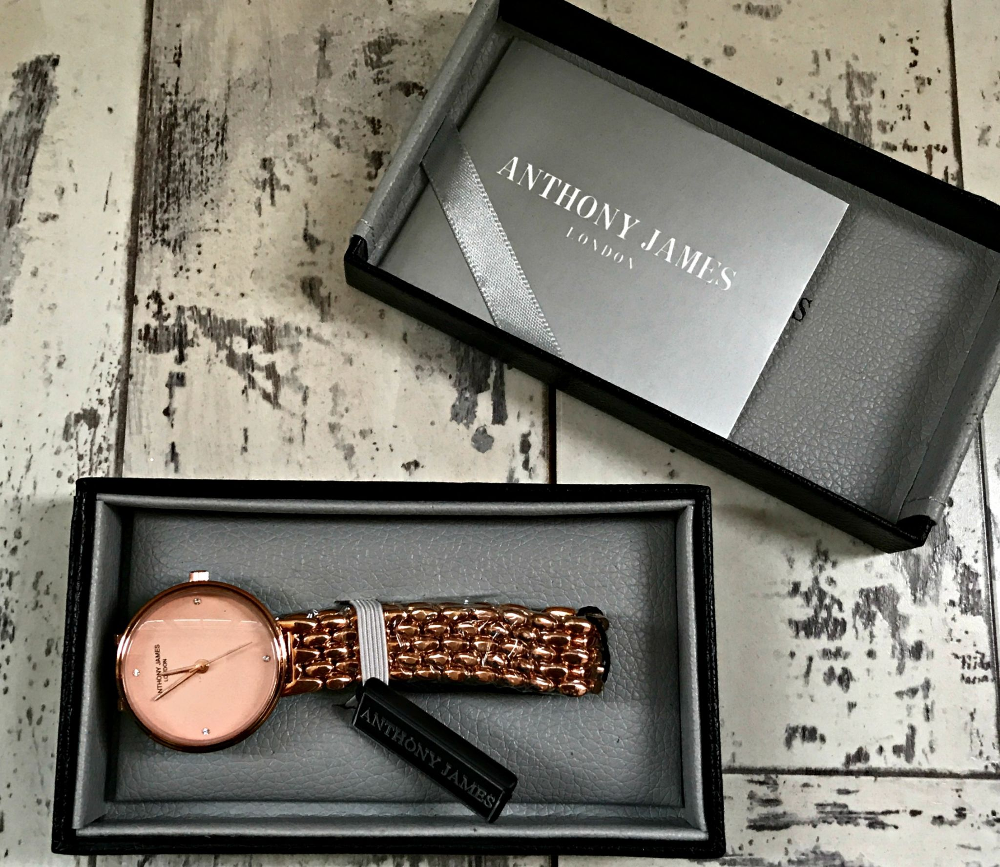 Anthony James of London Ladies Belgravia Watch - simple, stylish watch