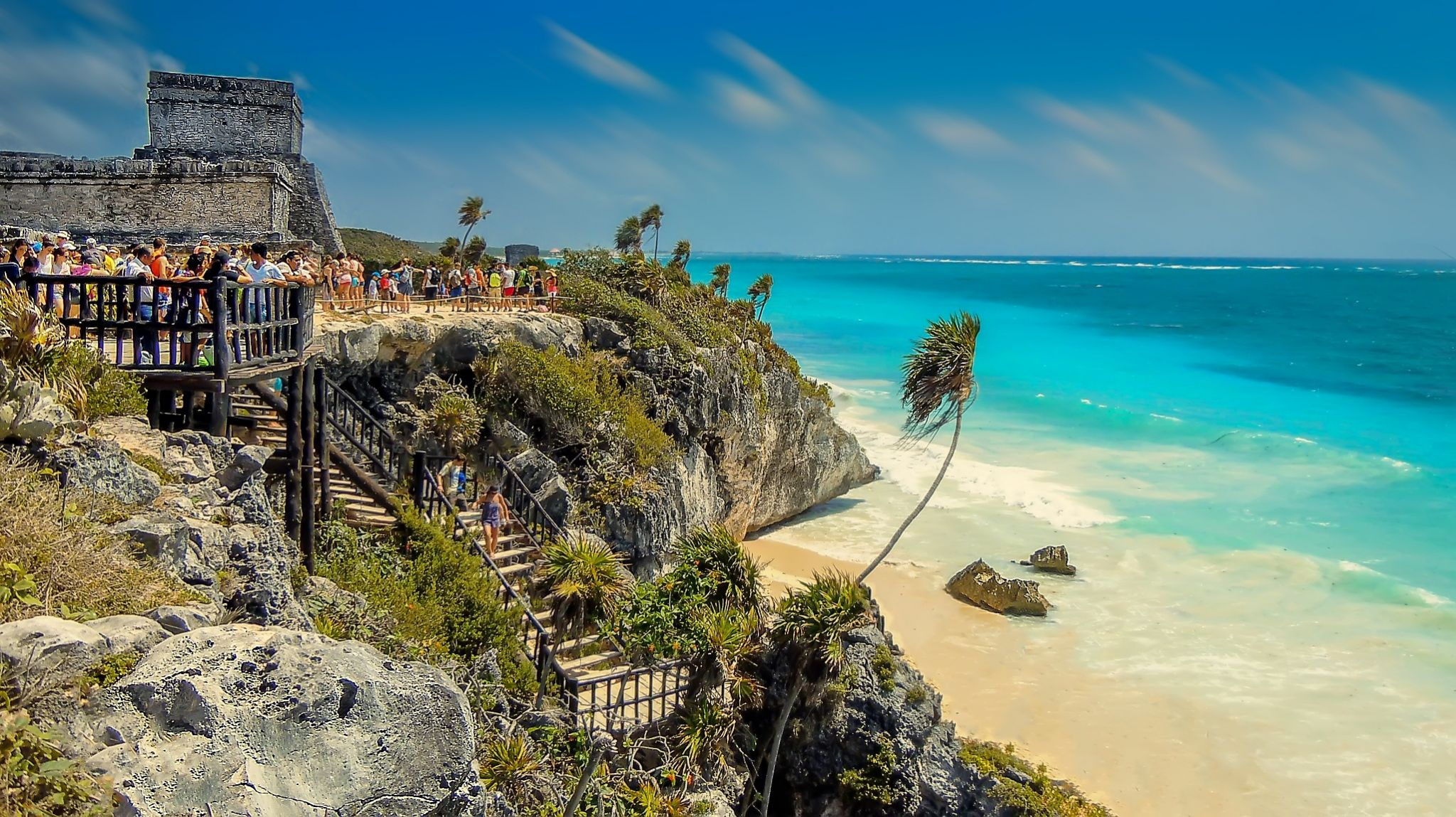 Must see places in Mexico - Tulum beach