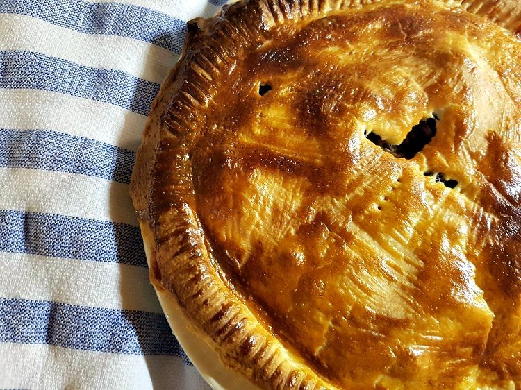 Warming winter pies: Rabbit and Black Pudding Pie from She Eats