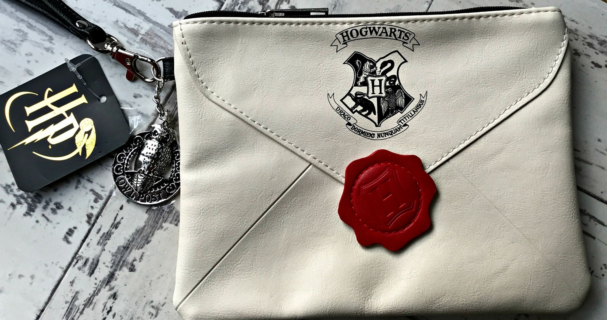 Letter From Hogwarts Clutch - Mother Distracted Giveaway