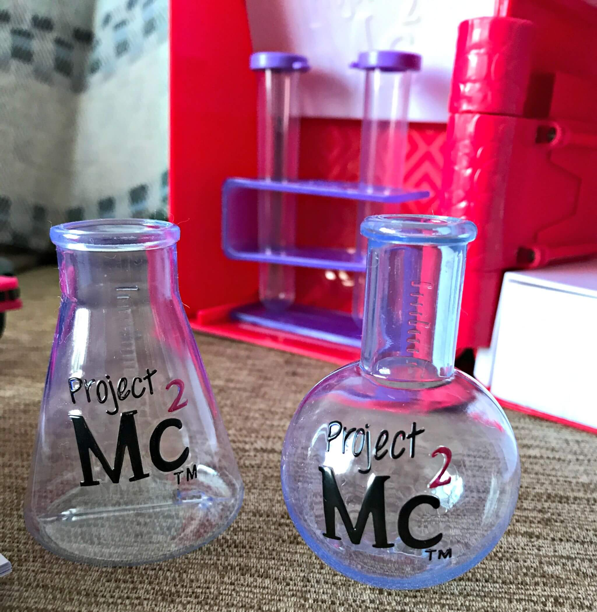 Project Mc2 Ultimate Lab Kit - test tubes and bottles