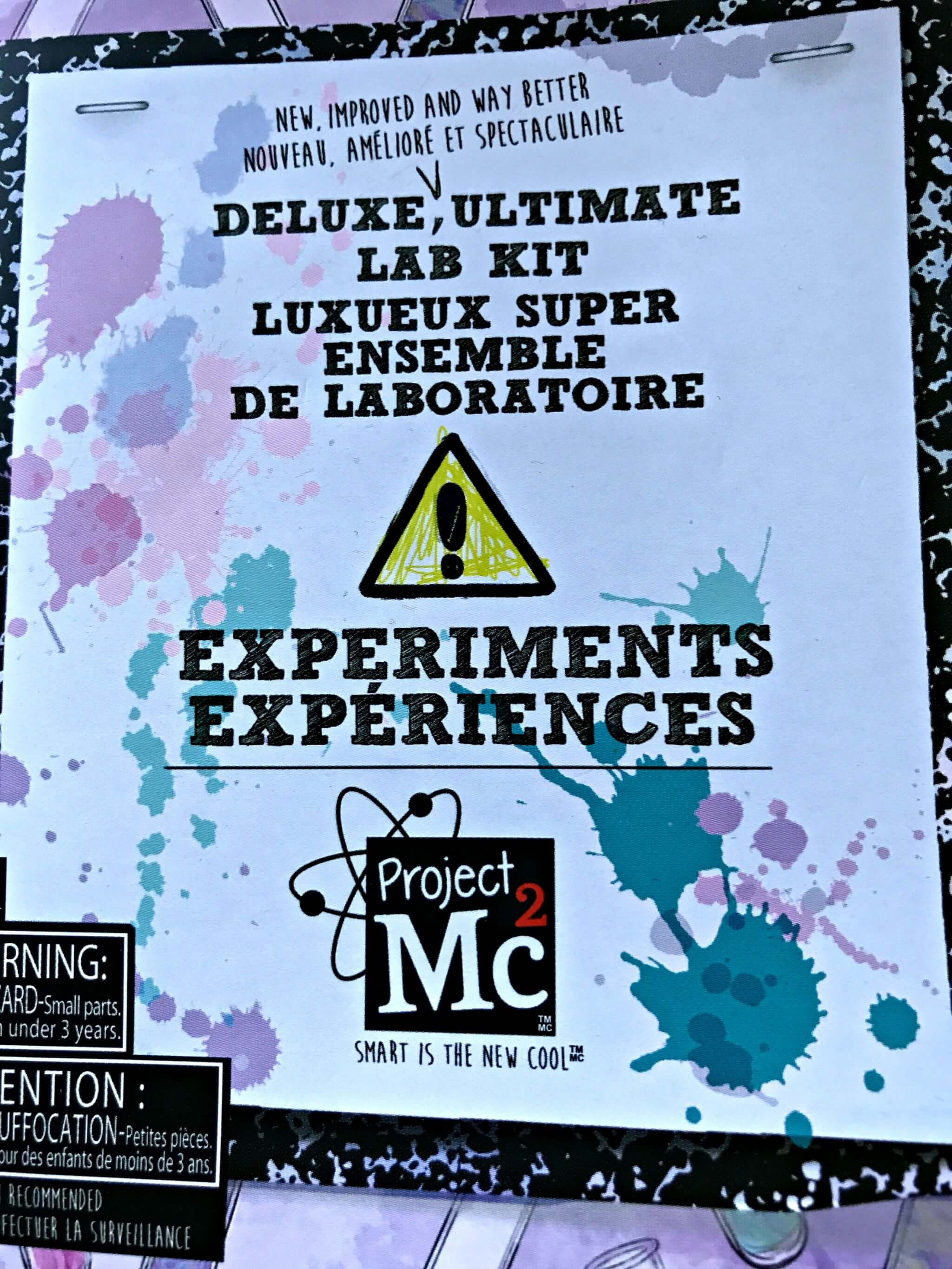 Project Mc2 Ultimate Lab Kit experiment booklet