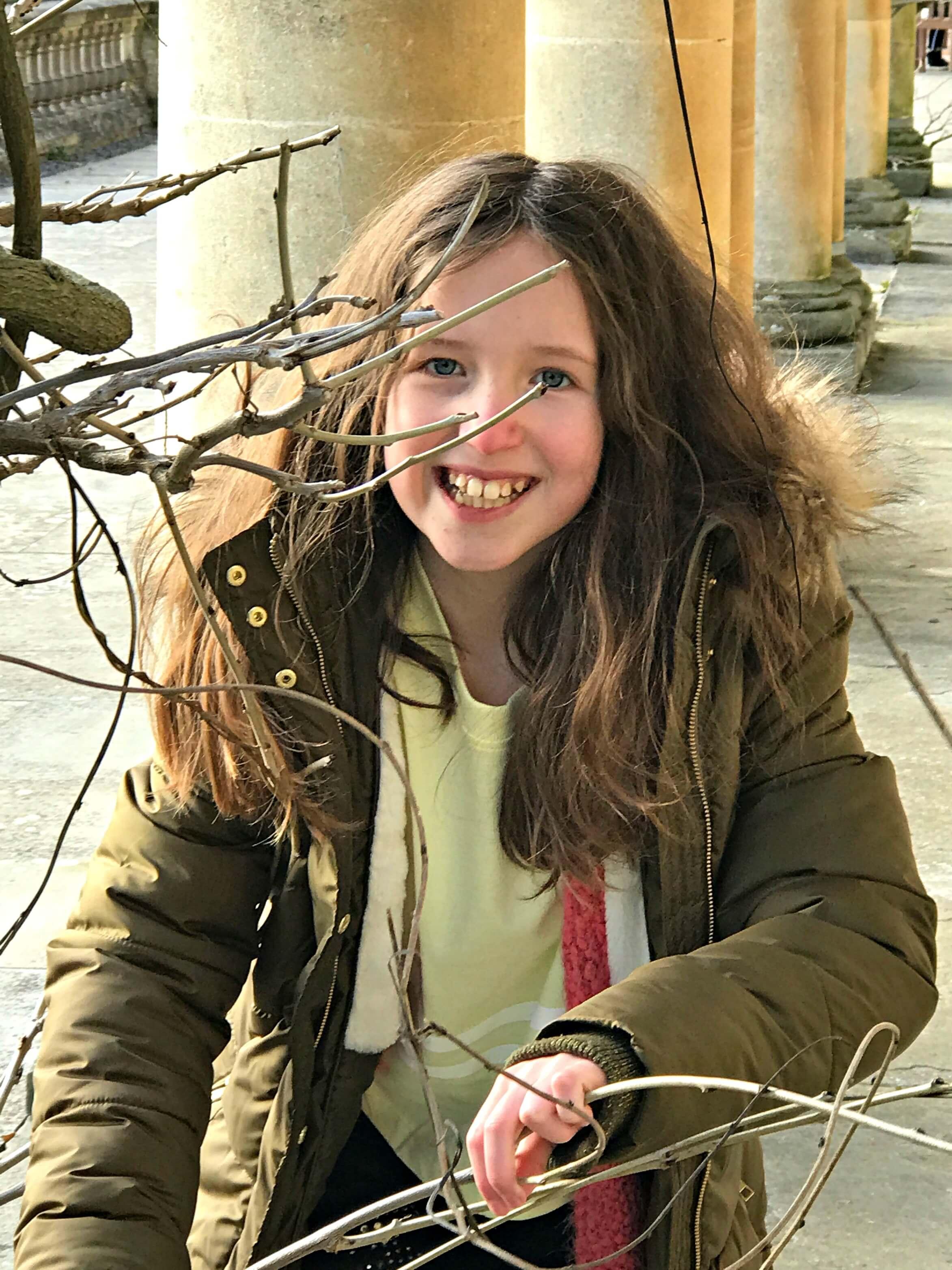 Caitlin at Dyffryn