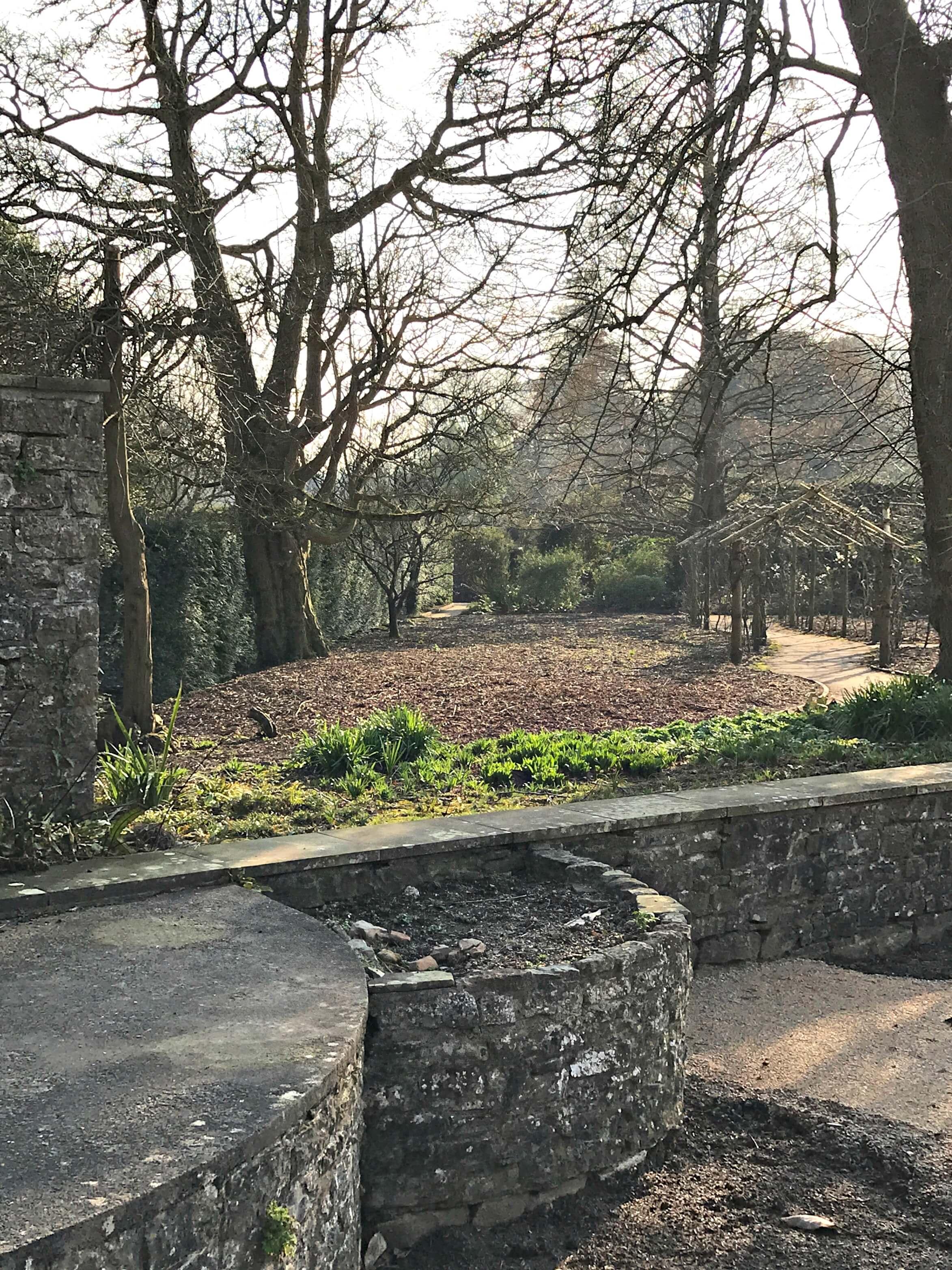 Dyffryn Gardens Walled Garden