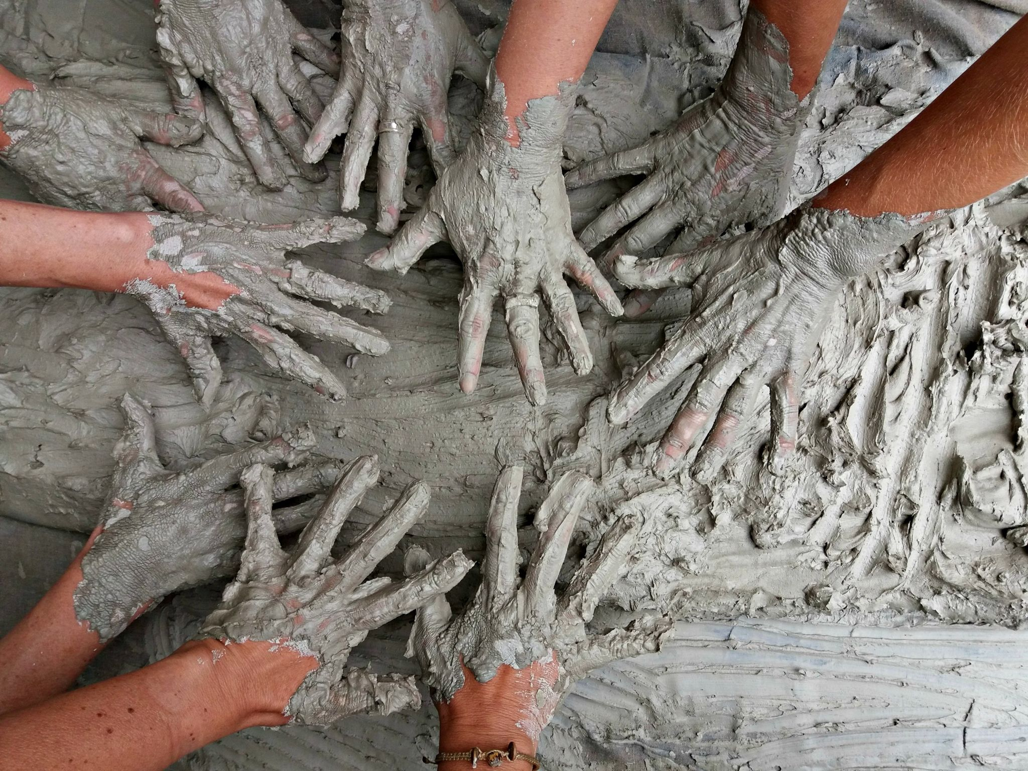 half term fun - play with clay