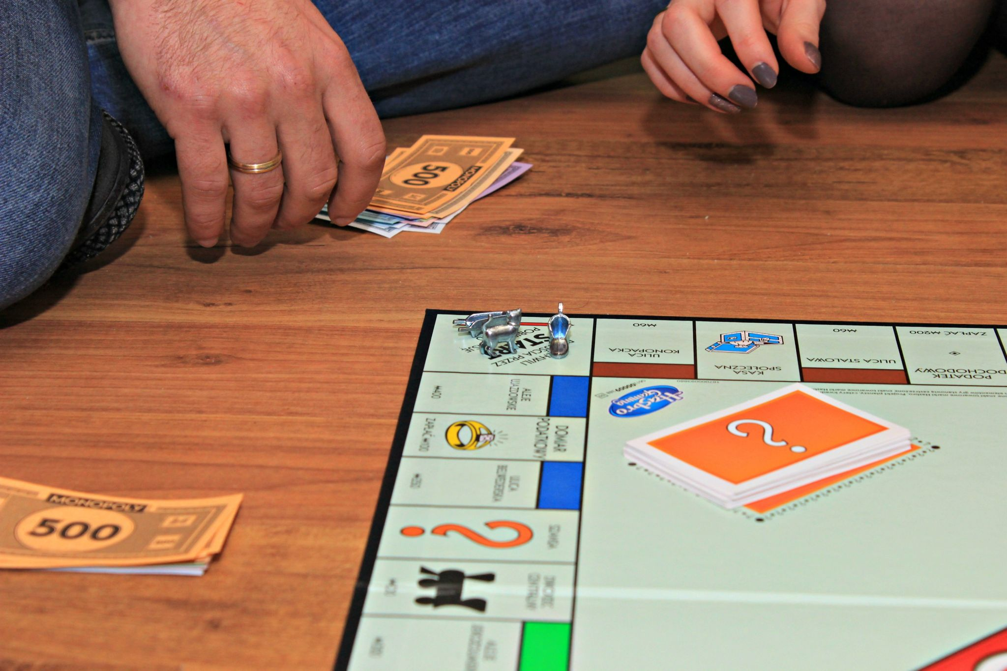 half term fun - get the Monopoly out!