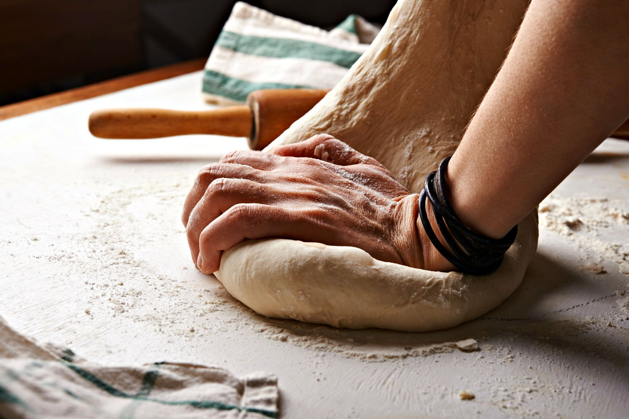 Half term fun could be something simple like baking home-made bread