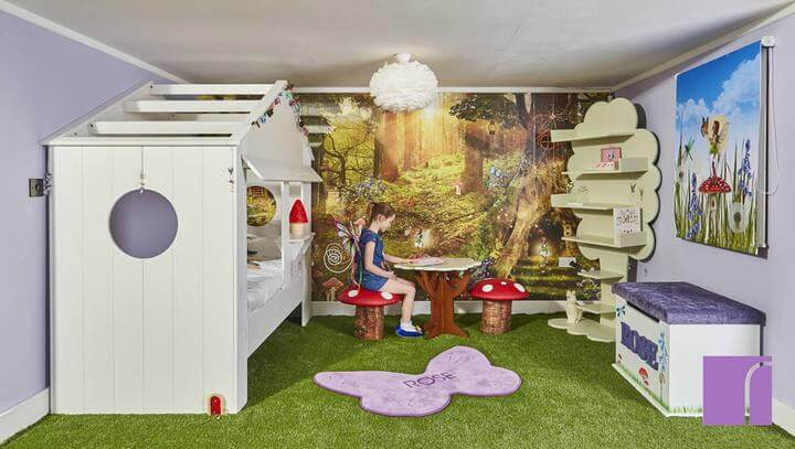 Reroom Children's Interiors - Away With The Fairies Bedroom