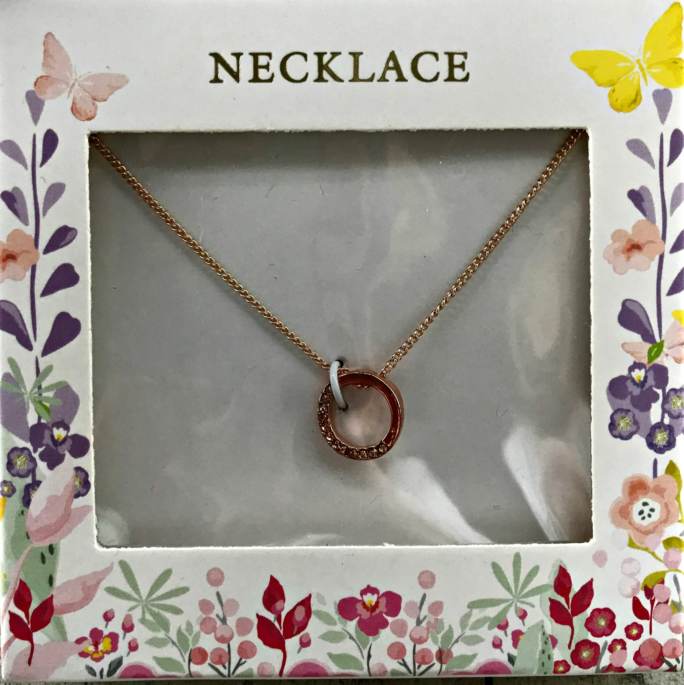 Mother's Day gifts on a budget - Home Bargains Summer Meadows necklace