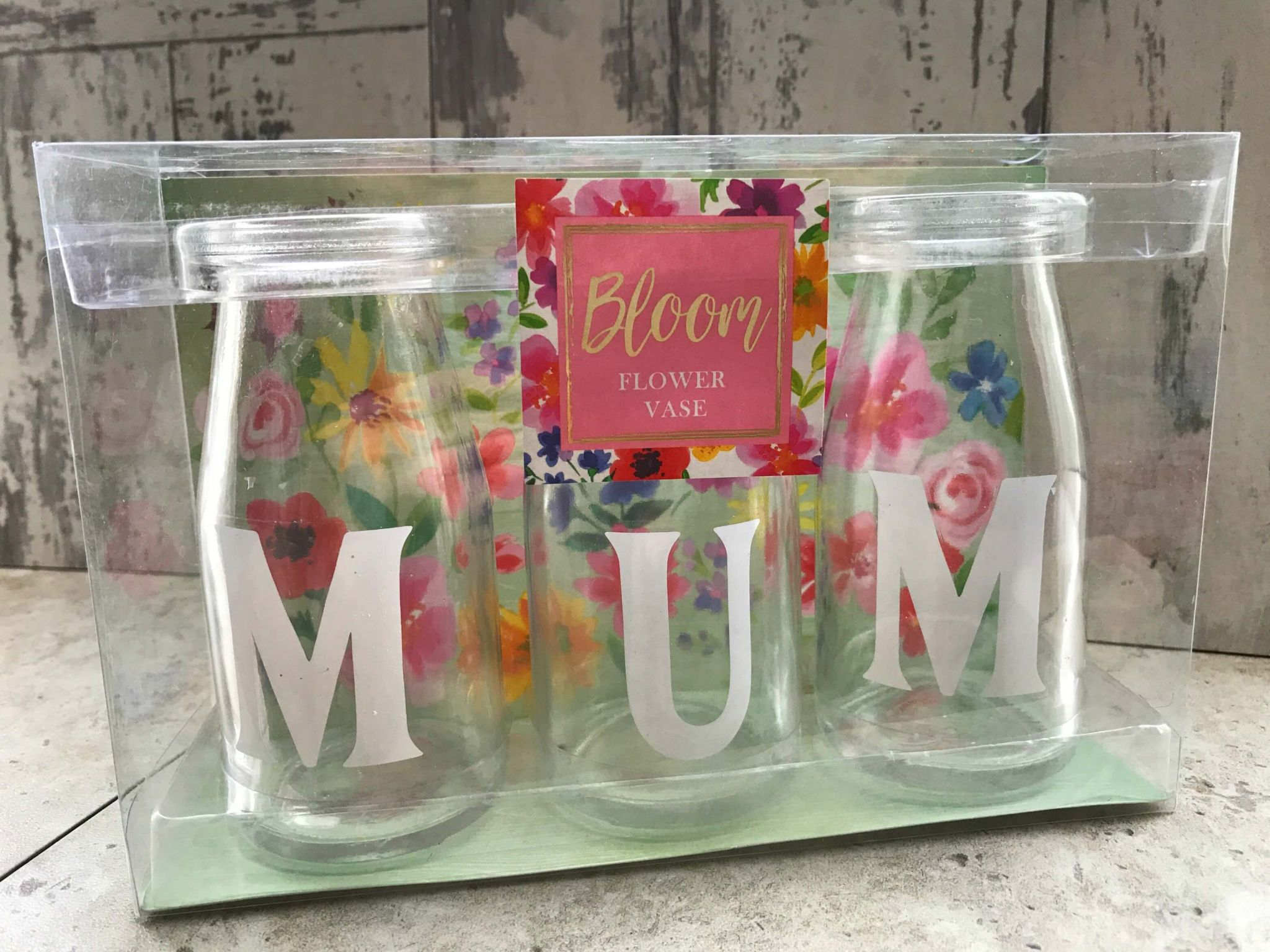 Mother's Day gifts on a budget - Home Bargains Bloom Flower Vase