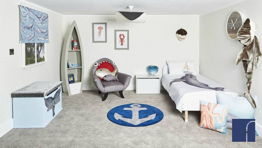 Reroom children's interiors - Whaley Good Complete Nautical Bedroom